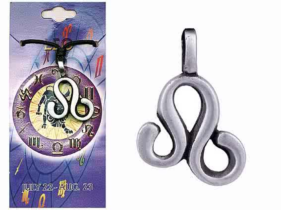 Astrological Pewter Pendant – LEO